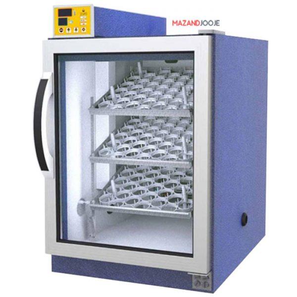 دستگاه جوجه کشی 126 تایی بلدرچین دماوند DQ40SH
